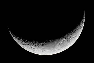 Lunar Occultation Of Mars Poster