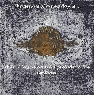 Lunar Sun Poster