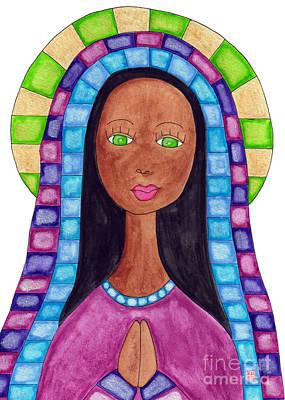 Lupita Portrait Aya Sofya Poster by Emily Lupita Studio