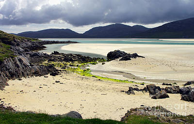 Poster featuring the photograph Luskentyre Bay by Jacqi Elmslie