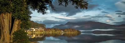 Luss Loch Lomand Poster
