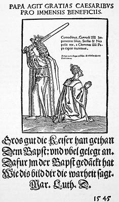 Luther Satire, 1545 Poster
