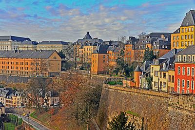Luxembourg Fortification Poster