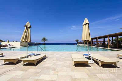 Luxury Beach Resort Poster