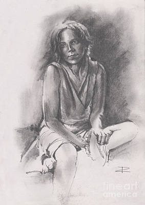 Lydia Sketch Poster