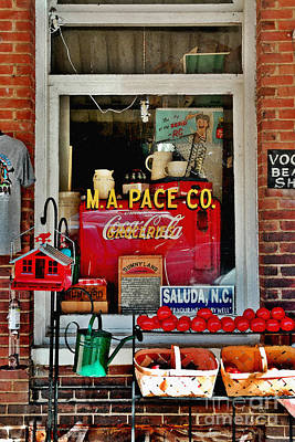 M. A. Pace Co. General Store Saluda Nc Poster