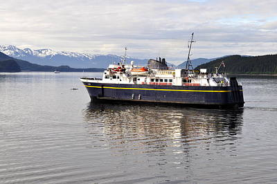 Poster featuring the photograph M/v Leconte by Cathy Mahnke