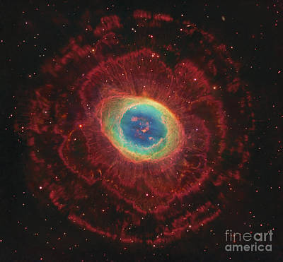M57, The Ring Nebula Poster