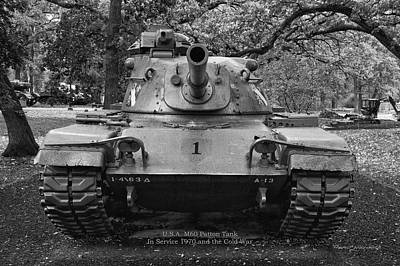 M60 Patton Tank Poster by Thomas Woolworth