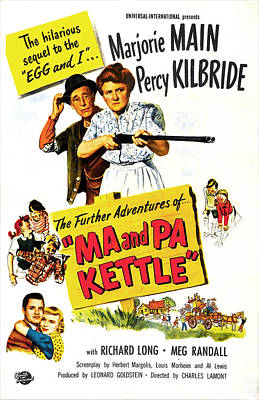 Ma And Pa Kettle Aka The Further Poster