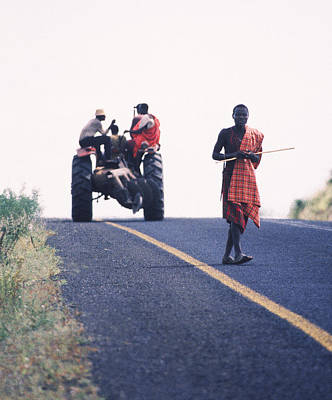 Maasai Moment  Poster by Joe  Connors