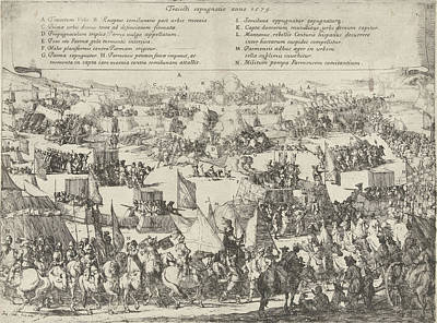 Maastricht Conquered By Parma, 1579, Jan Miel Poster