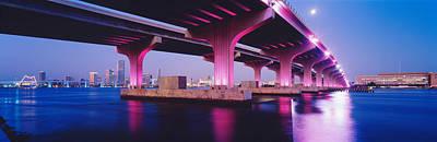 Macarthur Causeway Biscayne Bay Miami Poster