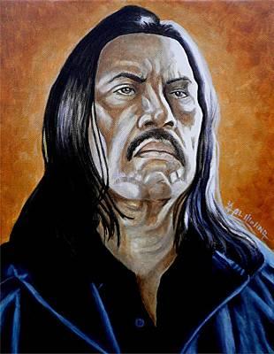 Machete Poster by Al  Molina