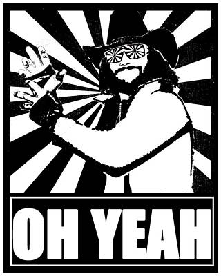 Macho Man Randy Savage Poster