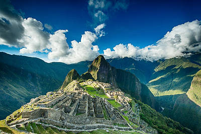 Machu Picchu Poster by Ulrich Schade