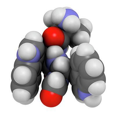Macimorelin Adult Growth Hormone Drug Poster by Molekuul