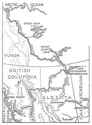 Mackenzie Map Poster