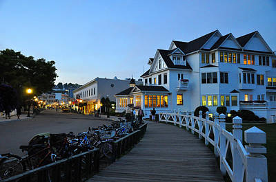 Mackinac Island At Dusk Poster
