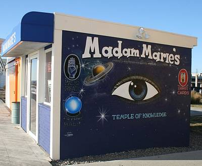 Madam Marie Poster by Melinda Saminski