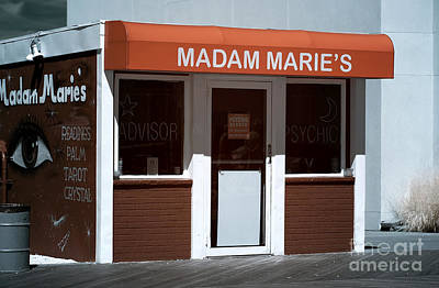Madam Marie's Infrared Poster by John Rizzuto