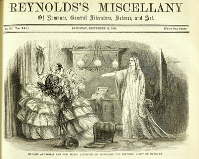 Madame Arundelli And Miss Winch Poster by British Library