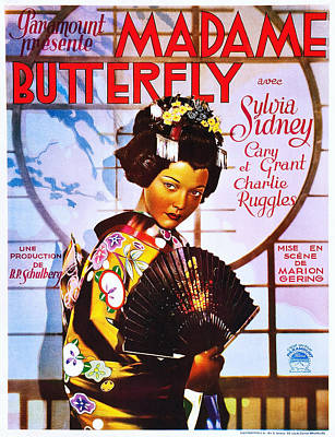 Madame Butterfly, Sylvia Sidney Poster by Everett