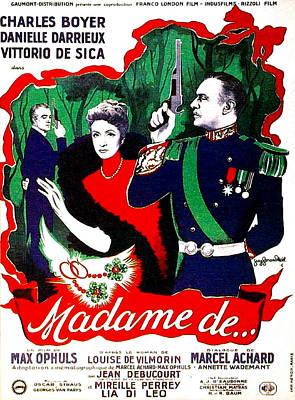 Madame De..., Aka The Earrings Of Poster