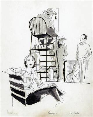 Madame Marcel Rochas Poster by Pierre Pages