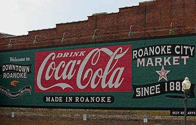 Made In Roanoke Poster by Suzanne Gaff