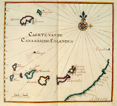 Madeira And Canary Islands Poster by British Library