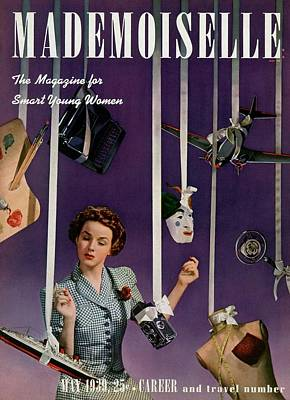 Mademoiselle Cover Featuring A Model Poster