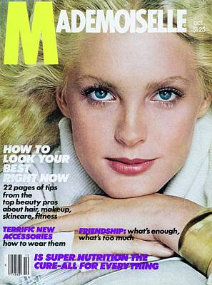 Mademoiselle Cover Featuring Linda Tonge Poster by Albert Watson