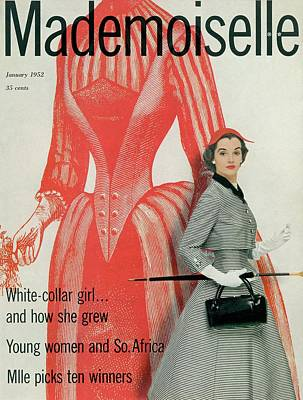 Mademoiselle Cover Featuring Nan Rees Poster by Stephen Colhoun