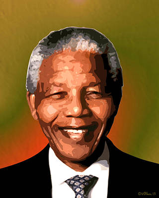 Madiba Poster by Walter Oliver Neal