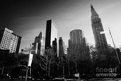 Madison Square Park New York City Manhattan Poster by Joe Fox