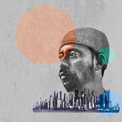 Madlib - Urban Poster by Richard Tito