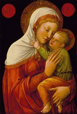 Madonna And Child Poster by Jacopo Bellini