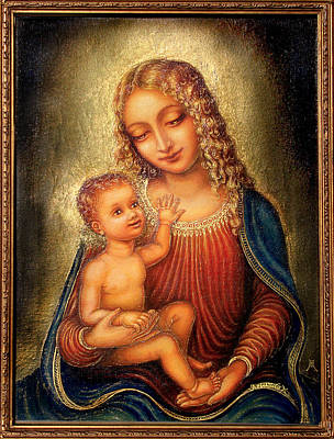 Madonna Beata Poster