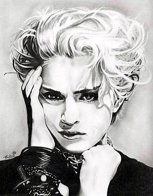 Madonna Poster by Fred Larucci