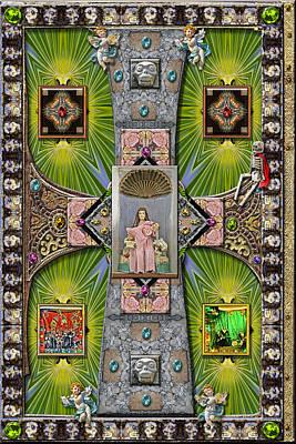 Madonna Of Valladolid Mexico Poster