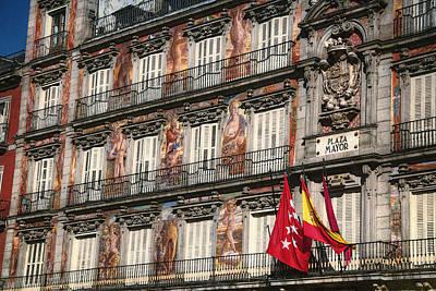 Madrid Murals Poster