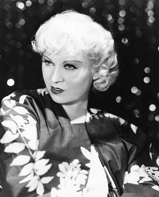Mae West, Ca. 1933 Poster by Everett