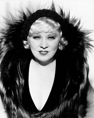 Mae West, Ca. 1934 Poster by Everett