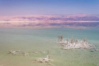 Magic Colors Of The Dead Sea Poster