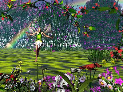 Magic Garden Poster