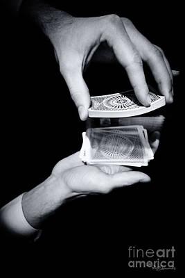 Magic Hands Poster by Pete Edmunds