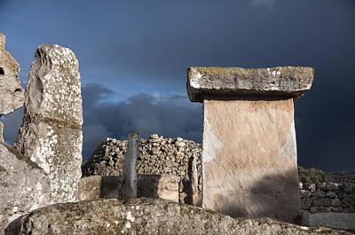 Bronze Edge In Minorca Called Talaiotic Age Unique At World - Magic Island 1 Poster by Pedro Cardona