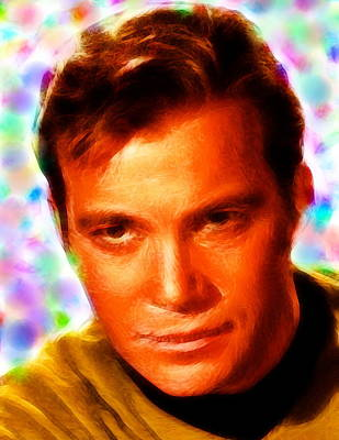 Magical Kirk Poster by Paul Van Scott