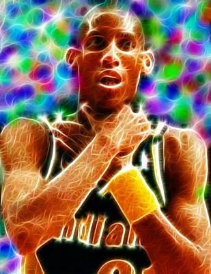 Magical Reggie Miller Choke Poster